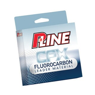 P-Line CFX Fluorocarbon Leader 27-yard Fishing Line