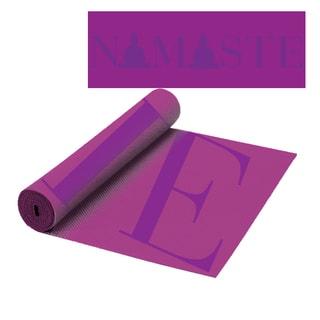 The Macbeth Collection Namaste Fashion Yoga Mat