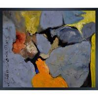 Pol Ledent 'Abstract 1811011' Framed Fine Art Print