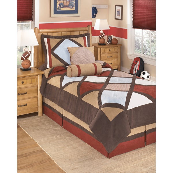 Signature Design by Ashley Academy Multi-color Comforter Set