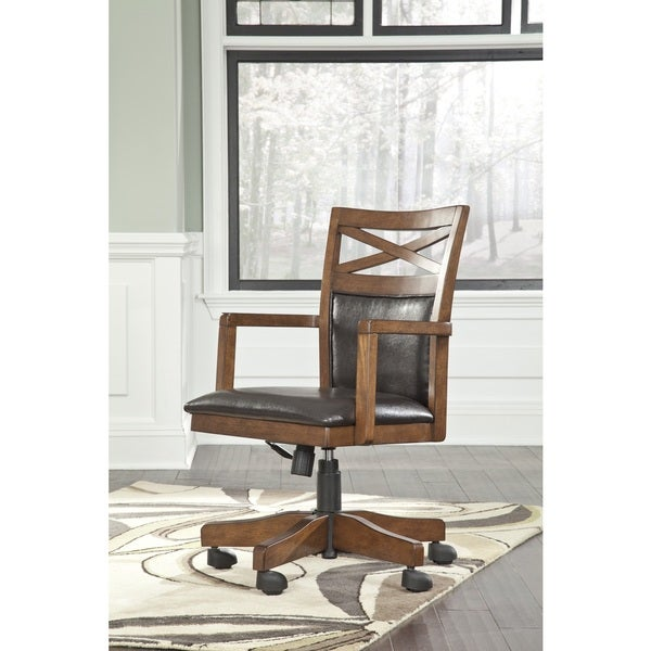 signature designashley burkesville home office desk chair