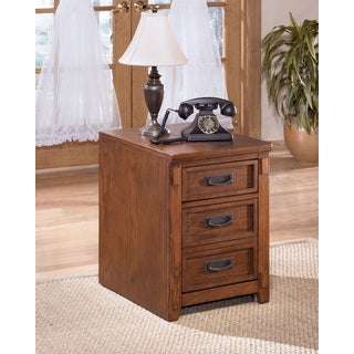 Signature Design by Ashley Cross Island Brown File Cabinet