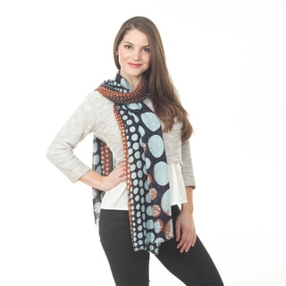 Dotted Design Shawl
