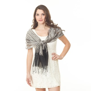 Metallic Design Shawl