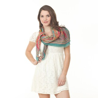 Floral Design Shawl