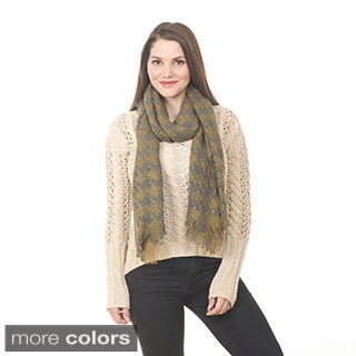 Women's Two-tone Knitted Shawl