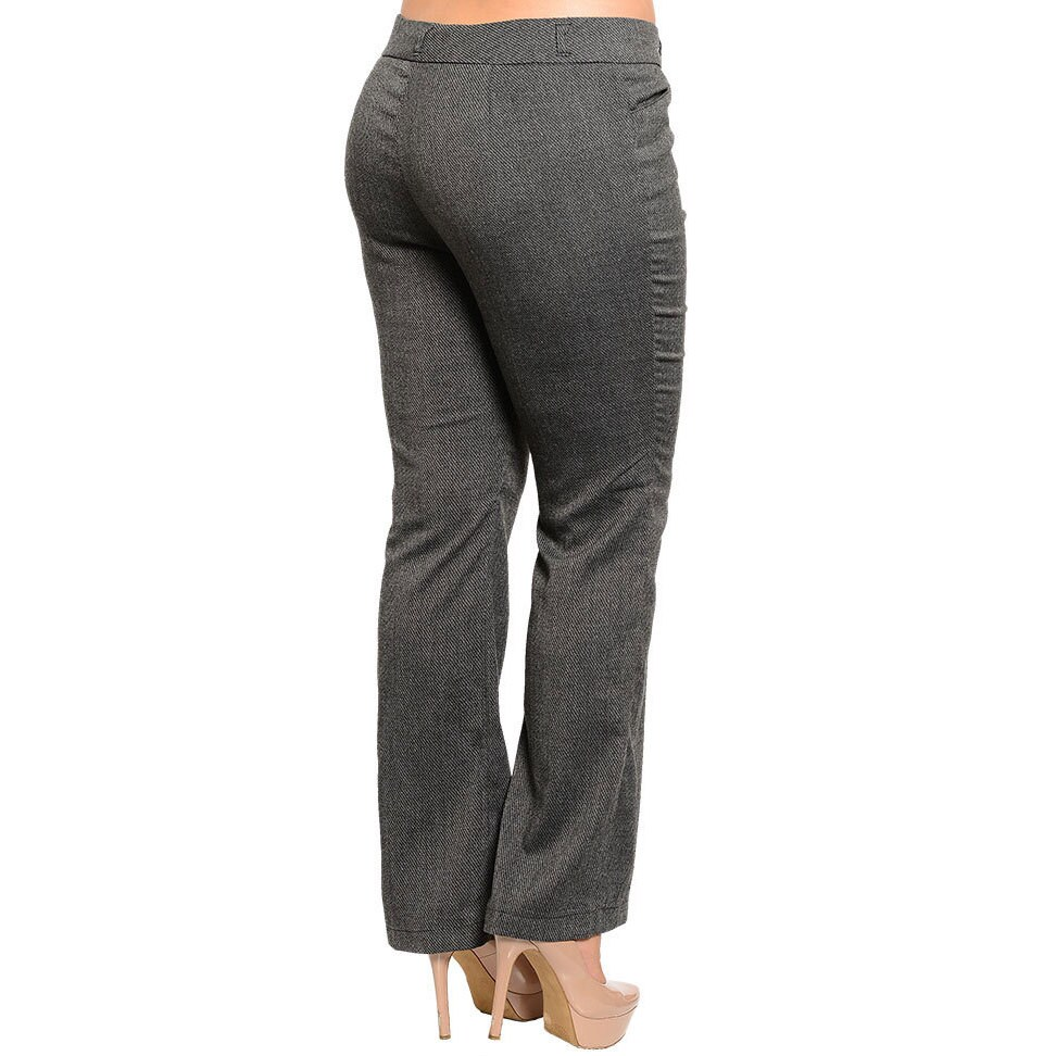 94b31c9c276a0 Shop Stanzino Women s Plus Size Boot-cut Slacks - Free Shipping On Orders  Over  45 - Overstock.com - 9421713