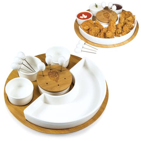 Picnic Time NFL AFC Teams Appetizer Serving Set