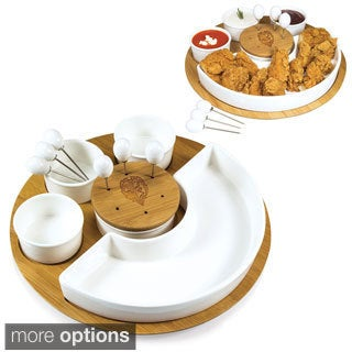 Picnic Time NFL AFC Teams Symphony Appetizer Serving Set