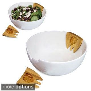 Picnic Time NFL AFC Teams Romano Salad Bowl and Servers Set