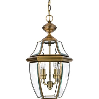 Newbury Antique Finish Medium 2-light Hanging Lantern