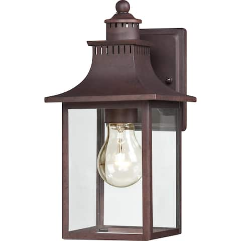 Quoizel Chancellor 1-light Copper Bronze Small Wall Lantern