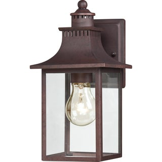 Chancellor 1-light Copper Bronze Small Wall Lantern