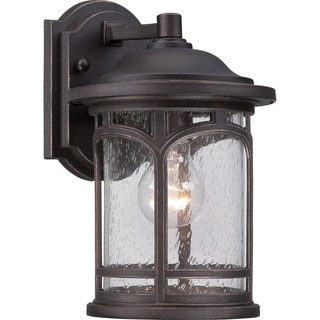 Marblehead Palladian Bronze Finish Small Wall Lantern