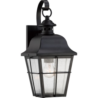 Millhouse Mystic Black Small Wall Lantern
