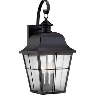 Millhouse Mystic Black Large Wall Lantern