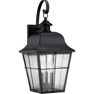 Quoizel Millhouse Mystic Black Large Wall Lantern