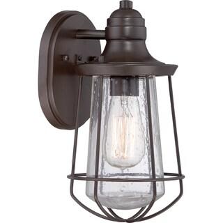 Carbon Loft Leonard Bronze Small Wall Lantern