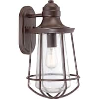 Quoizel Marine Western Bronze Finish Large Wall Lantern