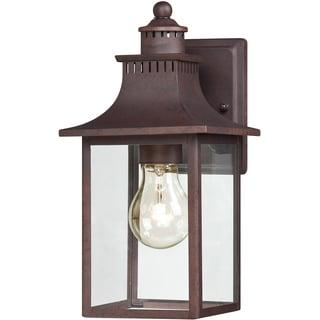 Quoizel Chancellor 1-light Copper Bronze Small Wall Lantern