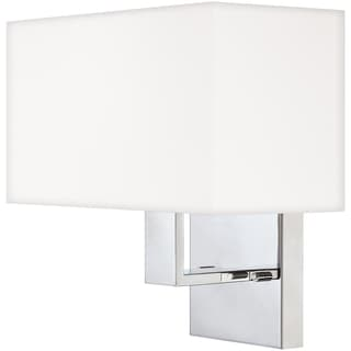 Remi Single-light Polished Chrome Wall Sconce
