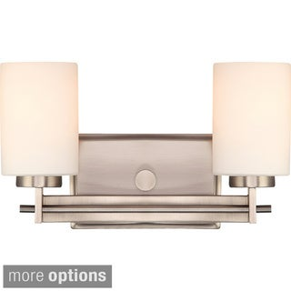 Quoizel Taylor Steel 2-light Vanity