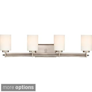 Quoizel Taylor 4-light Antique Nickel Vanity