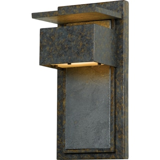 Zephyr Muted Bronze Finish Small Wall Lantern