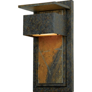 Zephyr Muted Bronze Finish Medium Wall Lantern