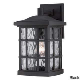 Quoizel Outdoor Lighting Quoizel outdoor lighting for less overstock quoizel coastal armour stonington 1 light medium wall lantern workwithnaturefo