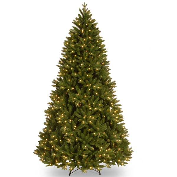 'Feel Real' 7.5-foot Scandinavian Fir Pre- - Shop 'Feel Real' 7.5-foot Scandinavian Fir Pre-lit Christmas Tree
