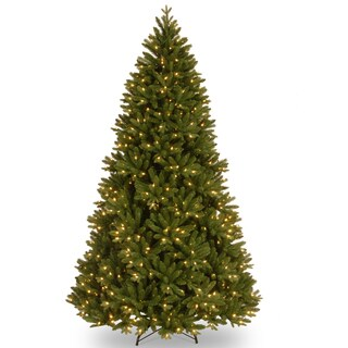 'Feel Real' 7.5-foot Scandinavian Fir Pre-lit Christmas Tree