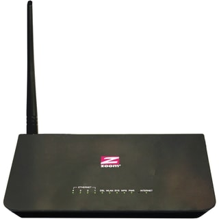 Zoom ADSL 2/2+ Modem/Router/Switch with Wireless-N, Configurable as B