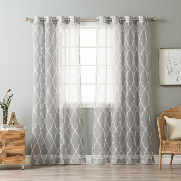 Moroccan Sheer Curtains Home The Honoroak