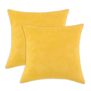 Magnum Lemon 17-inch Decorative Throw Pillow (Set of 2)