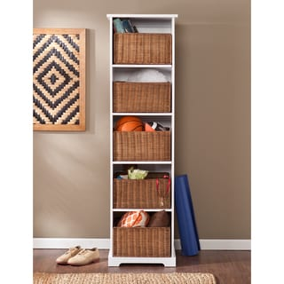 Harper Blvd Lima White Entryway Storage Cubby