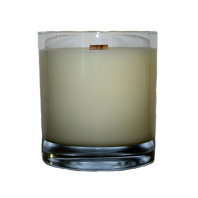 House 'Man Candle' Wooden Wick 11-ounce HB Rocks Tumbler ...