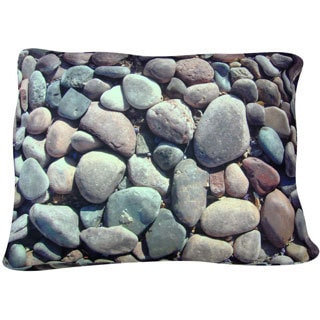 Dogzzzz Rectangular Soft Rocks Dog Bed