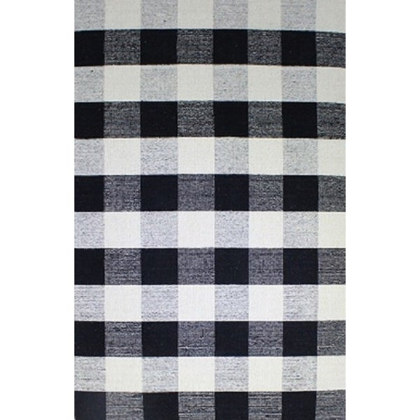 Royal Black And White Rug 4 X 6 Free Shipping Today