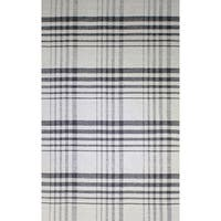 Royal Beige and Charcoal Rug - 5' x 8'
