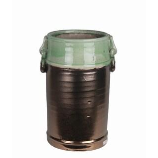 Large Ceramic Jar with Handles