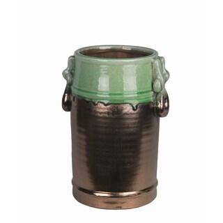Small Ceramic Jar with Handles