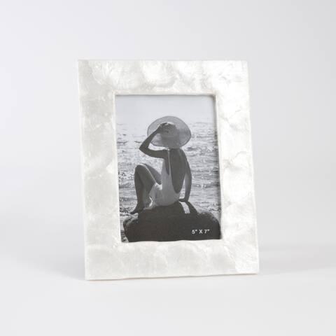 Capiz Design Photo Frame