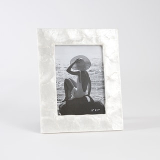 Capiz Design Photo Frame