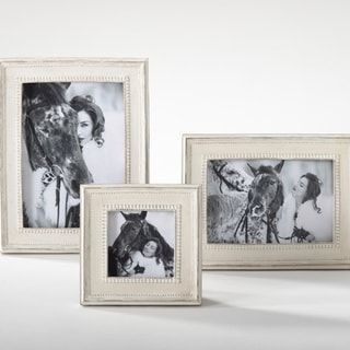 Distressed Wood Photo Frame