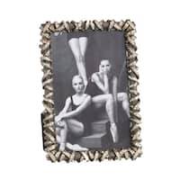 Modern Antique Design Jeweled Photo Frame