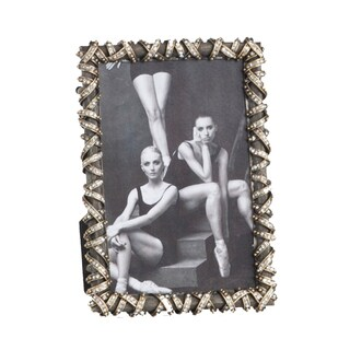 Modern Antique Design Jeweled Photo Frame