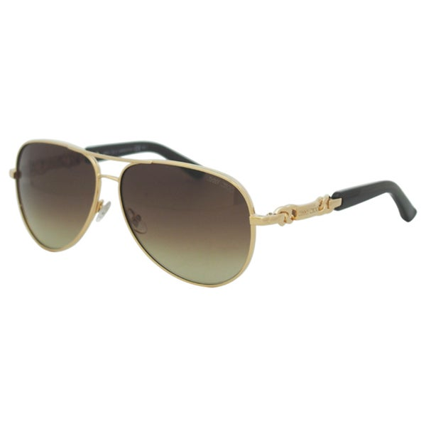 cde446afd816 Shop Jimmy Choo Women s  Reese S 000JD  Rose Gold Aviator Sunglasses - Free  Shipping Today - Overstock - 9423133