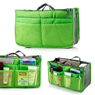 Gearonic Women Travel Insert Organizer Compartment Large Liner Tidy Bag (Option: Green)