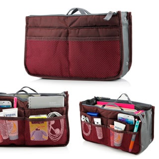 Gearonic Women Travel Insert Organizer Compartment Large Liner Tidy Bag